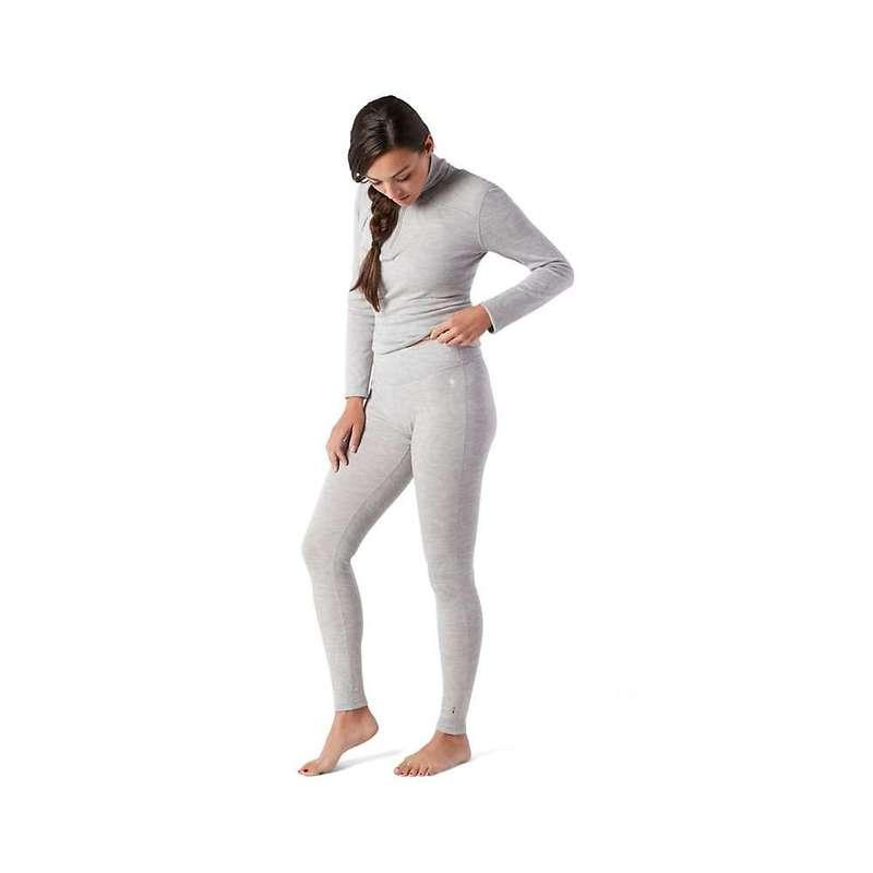 スマートウール レディース カジュアルパンツ ボトムス Smartwool Women's Merino 250 Baselayer Pattern Bottom Ash Snow Swirl