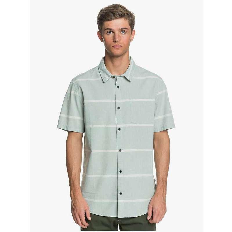 クイックシルバー メンズ シャツ トップス Quiksilver Men's Kalua Kobi Shirt Chinois Green Kalua Kobi
