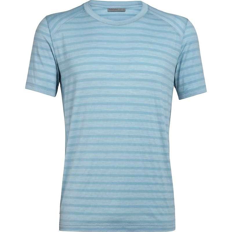 アイスブレーカー メンズ Tシャツ トップス Icebreaker Men's Elowen SS Crewe Waterfall
