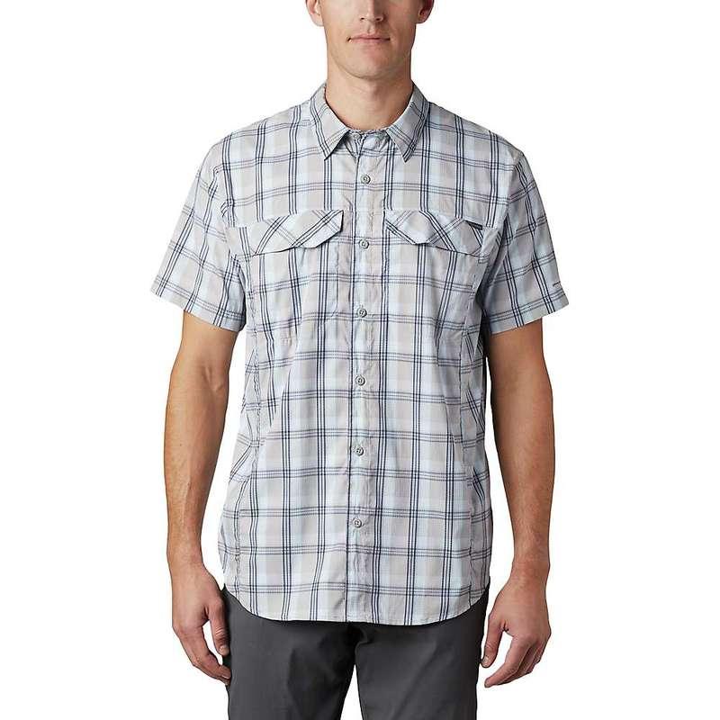 コロンビア メンズ シャツ トップス Columbia Men's Silver Ridge Lite Plaid SS Shirt Columbia Grey Grid Plaid