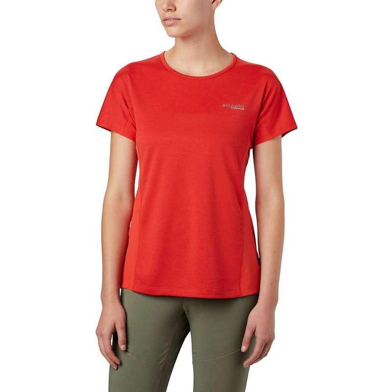 コロンビア レディース シャツ トップス Columbia Women's Irico Knit SS Shirt Bold Orange