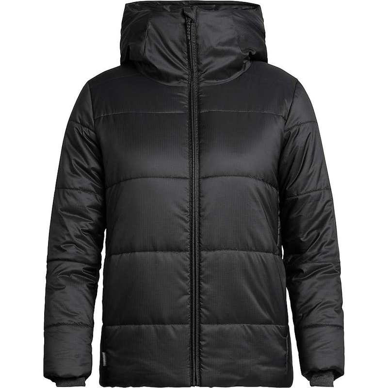 アイスブレーカー レディース ジャケット・ブルゾン アウター Icebreaker Women's Collingwood Hooded Jacket Black