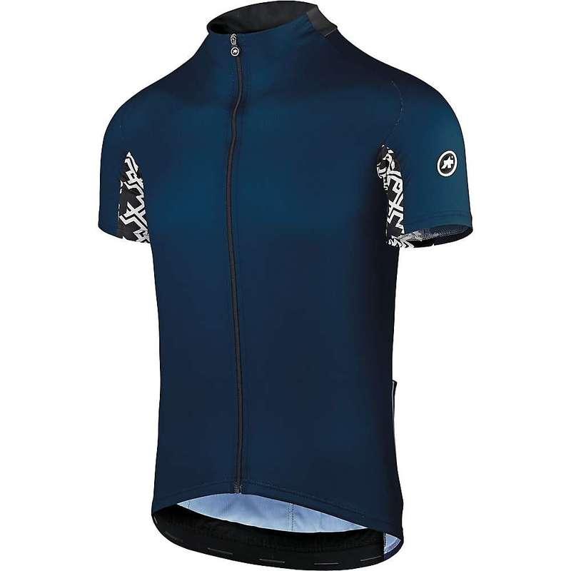 アソス メンズ シャツ トップス Assos Men's Mille GT SS Jersey Caleum Blue
