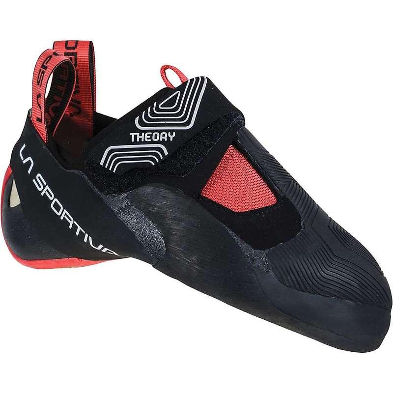 ラスポルティバ レディース スニーカー シューズ La Sportiva Women's Theory Climbing Shoe Black / Hibiscus