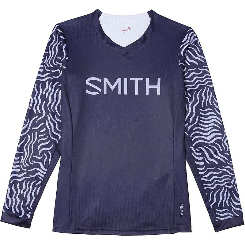 スミス レディース シャツ トップス Smith Women's MTB Jersey Indigo / Lilac