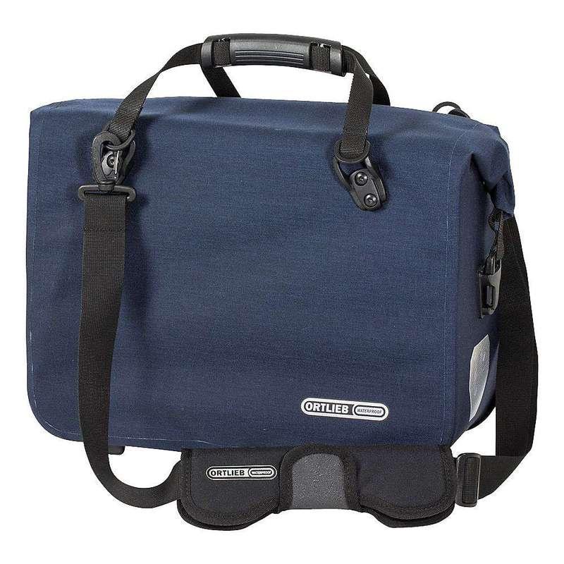 オートリービー メンズ ショルダーバッグ バッグ Ortlieb Office QL2.1 Messenger Bag Steel Blue