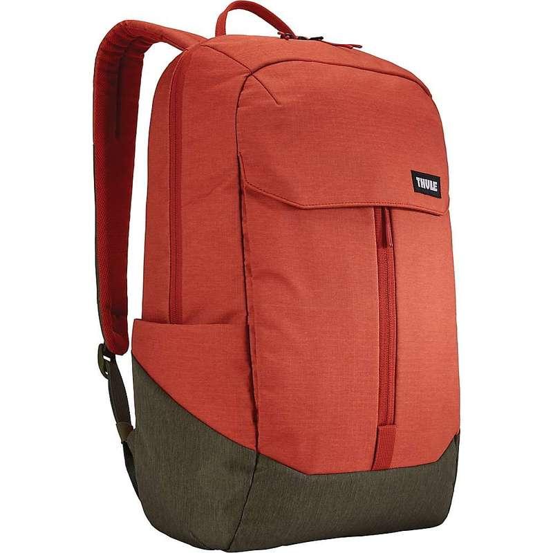 スリー メンズ バックパック・リュックサック バッグ Thule Lithos Backpack 20L Rooibos/Forest Night