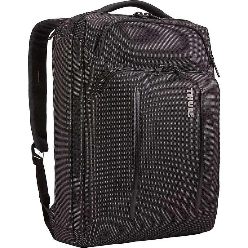 スリー メンズ ショルダーバッグ バッグ Thule Crossover 2 Convertible Laptop Bag Black
