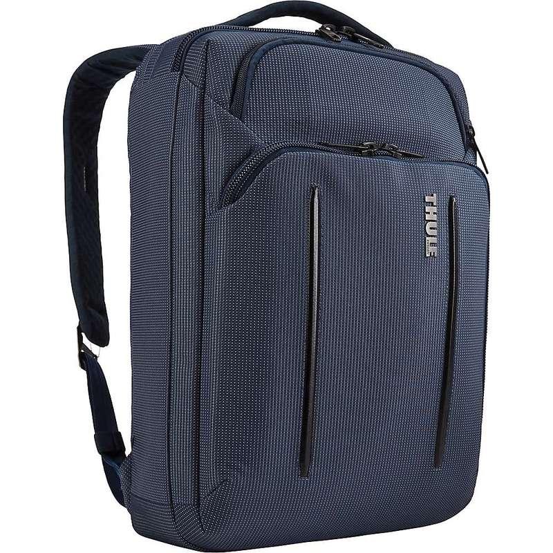 スリー メンズ ショルダーバッグ バッグ Thule Crossover 2 Convertible Laptop Bag Dress Blue