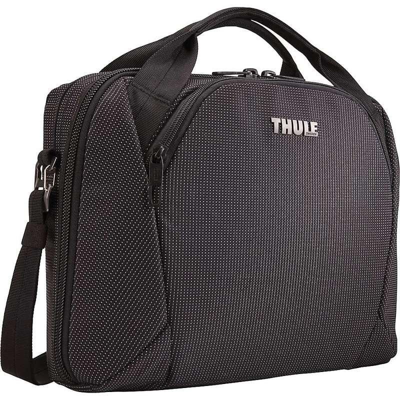 スリー メンズ ショルダーバッグ バッグ Thule Crossover 2 Laptop Bag Black