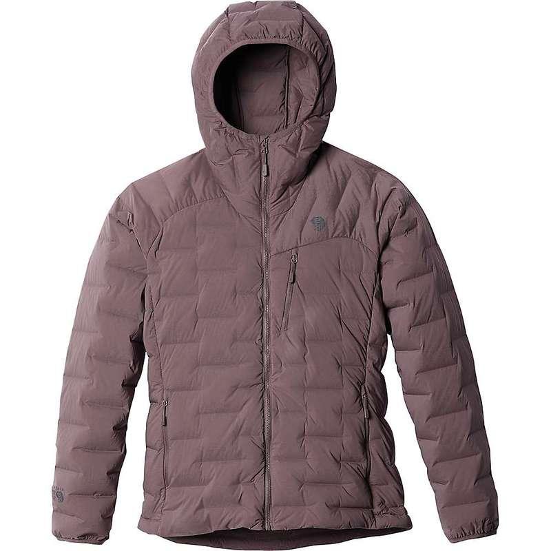 マウンテンハードウェア レディース ジャケット・ブルゾン アウター Mountain Hardwear Women's Super/DS Hooded Jacket Warm Ash