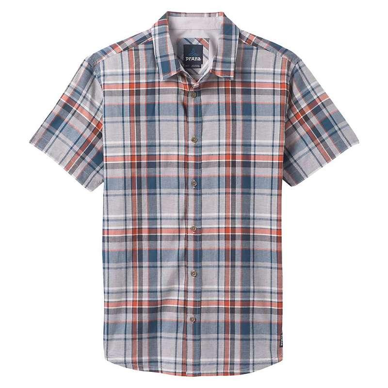 プラーナ メンズ シャツ トップス Prana Men's Offwidth Shirt Silver Spray