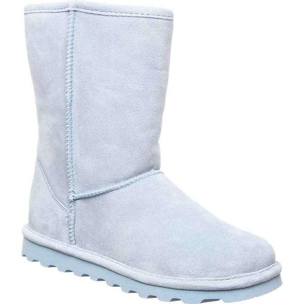 ベアパウ レディース ブーツ・レインブーツ シューズ Bearpaw Women's Elle Short Boot Powder Blue