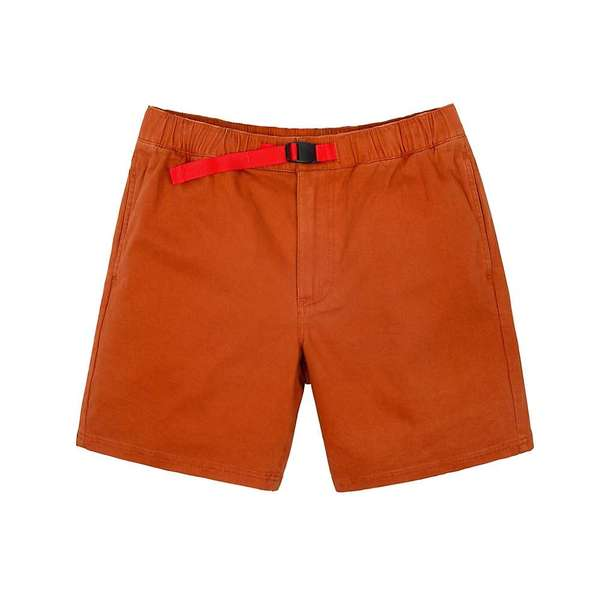 トポ・デザイン メンズ ハーフパンツ・ショーツ ボトムス Topo Designs Men's Mountain Shorts Brick