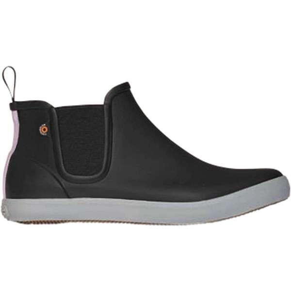 ボグス レディース スニーカー シューズ Bogs Women's Kicker Rain Chelsea Shoe Black