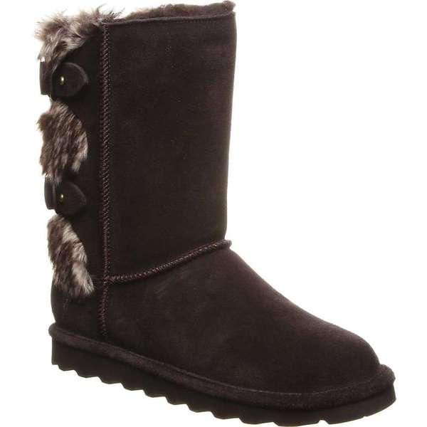 ベアパウ レディース ブーツ・レインブーツ シューズ Bearpaw Women's Eloise Boot Chocolate9DYWEHI2