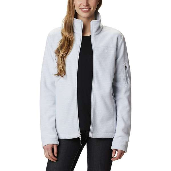 コロンビア レディース ジャケット・ブルゾン アウター Columbia Women's Fast Trek Printed Jacket Cirrus Grey Sparkler