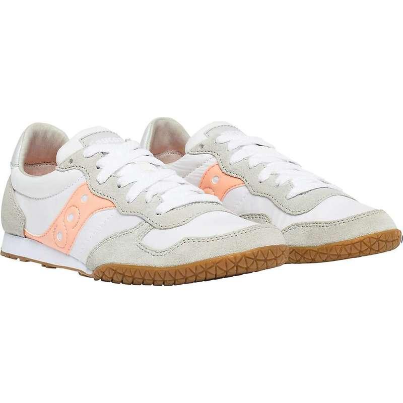 サッカニー レディース スニーカー シューズ Saucony Women's Bullet Shoe White / Pink / Gum
