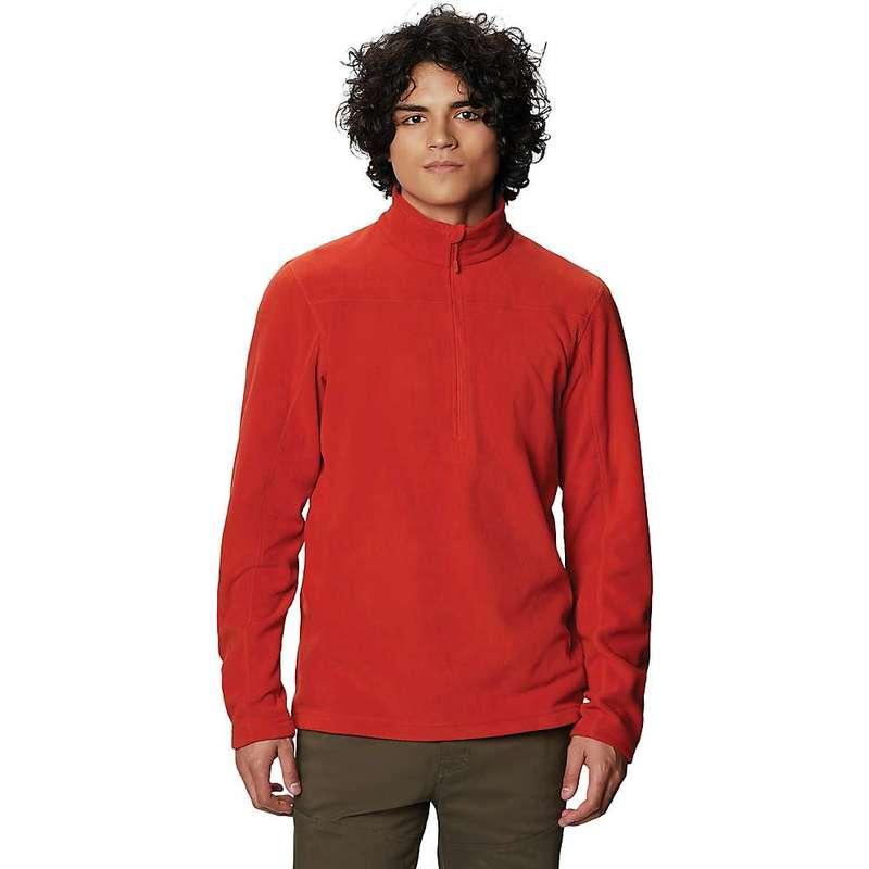 マウンテンハードウェア メンズ シャツ トップス Mountain Hardwear Men's Microchill 2.0 Zip T Desert Red