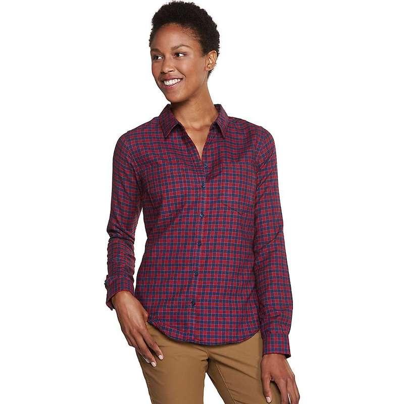 トードアンドコー レディース シャツ トップス Toad & Co Women's Dakotah LS Travel Shirt Sanguine Red