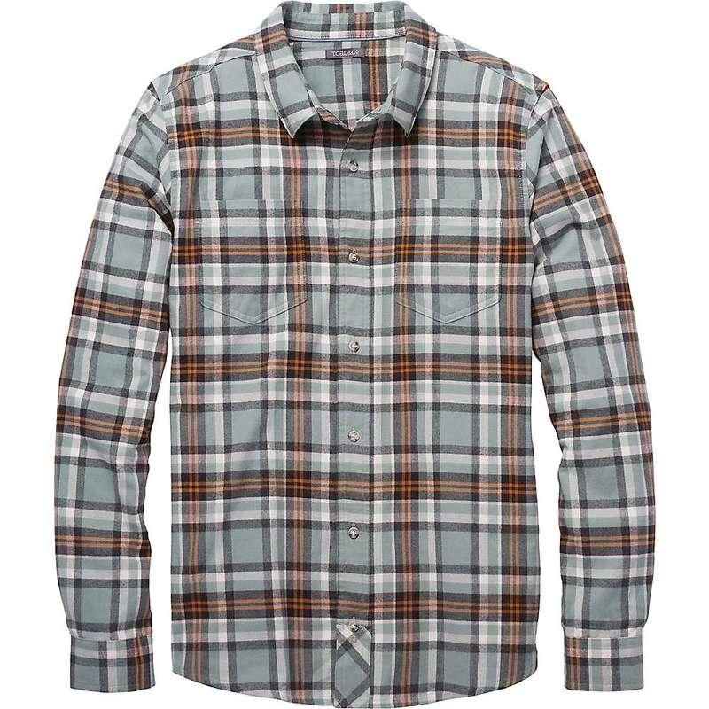 トードアンドコー メンズ シャツ トップス Toad & Co Men's Flannagan LS Shirt Green Mist