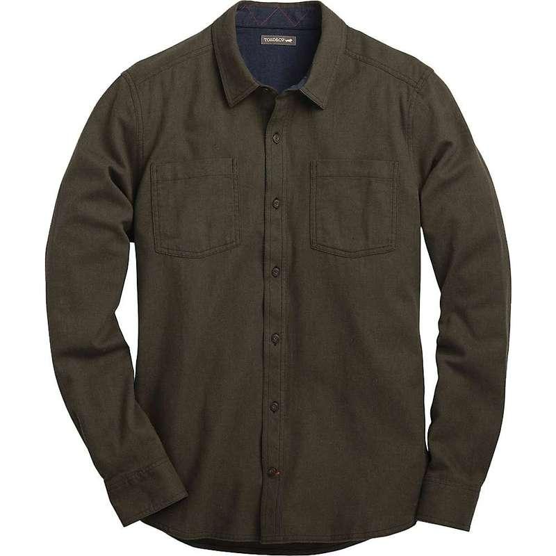トードアンドコー メンズ シャツ トップス Toad & Co Men's Flannagan Solid LS Shirt Rustic Olive Heather