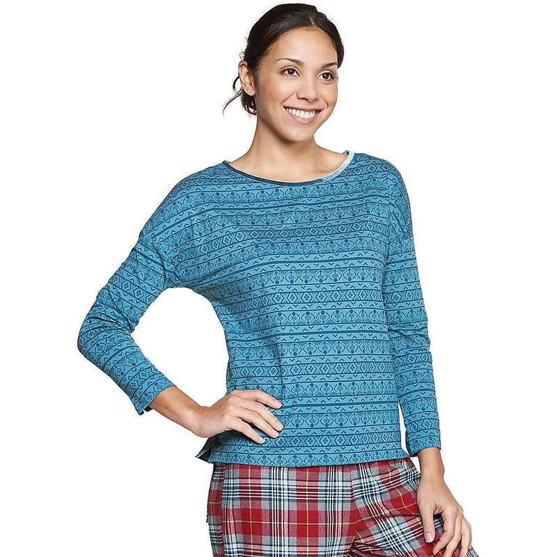 トードアンドコー レディース シャツ トップス Toad & Co Women's Bedhead Tee Hydro Knit Print
