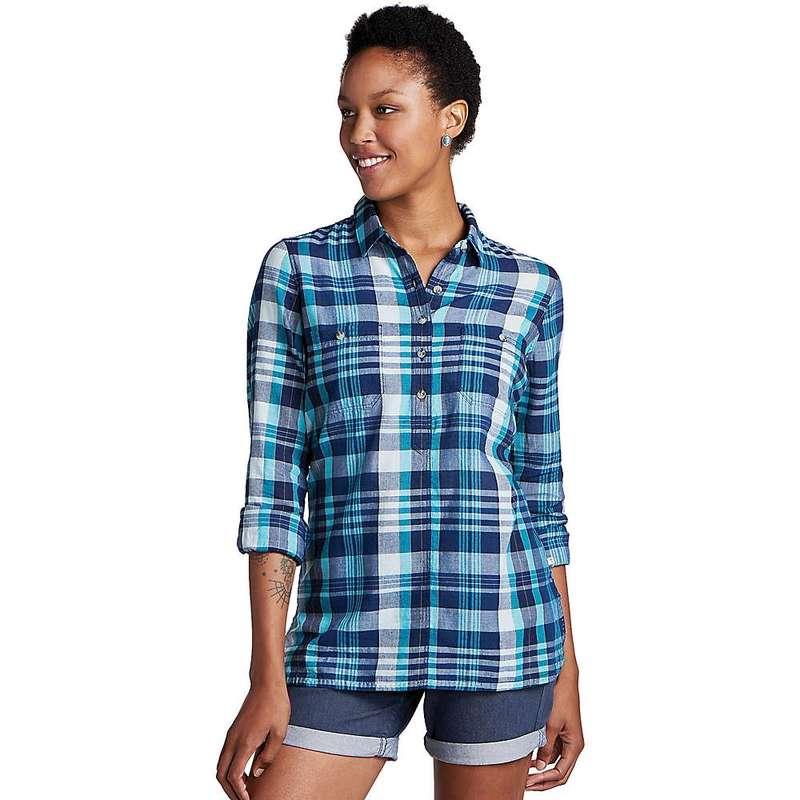 トードアンドコー レディース シャツ トップス Toad & Co Women's Indigo Ridge LS Shirt Dark Indigo