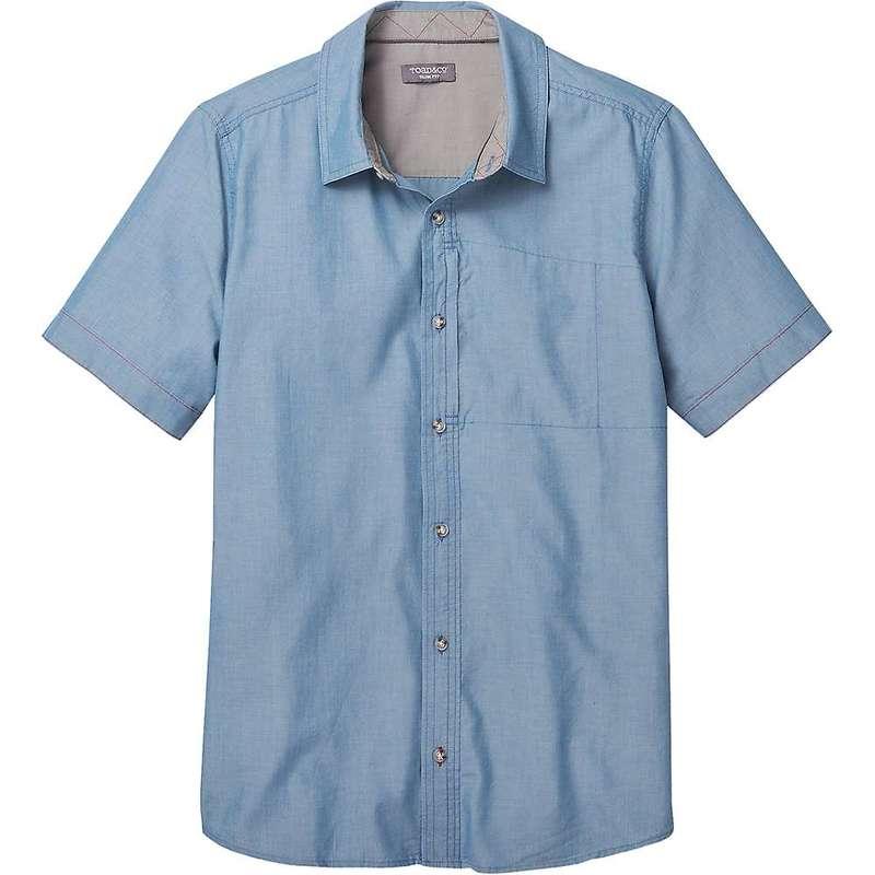 トードアンドコー メンズ シャツ トップス Toad & Co Men's Cutler SS Shirt Bright Indigo