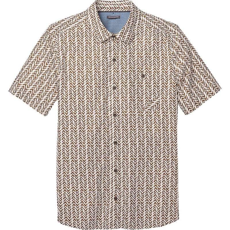 トードアンドコー メンズ シャツ トップス Toad & Co Men's Fletch Print SS Shirt Salt Birdseye Print