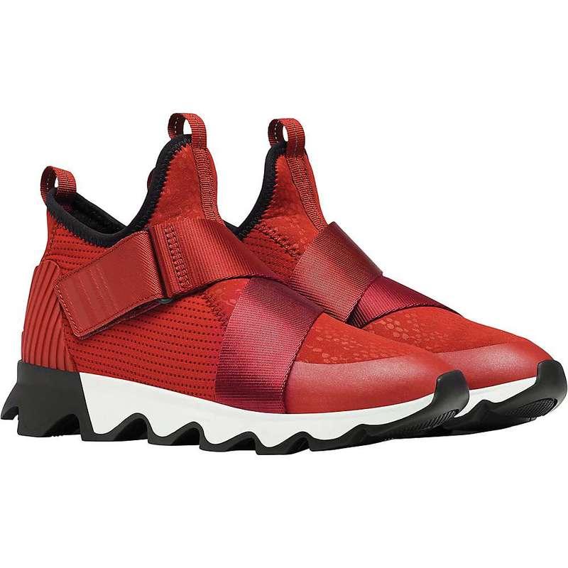 ソレル レディース スニーカー シューズ Sorel Women's Kinetic Sneak Shoe Red Dahlia