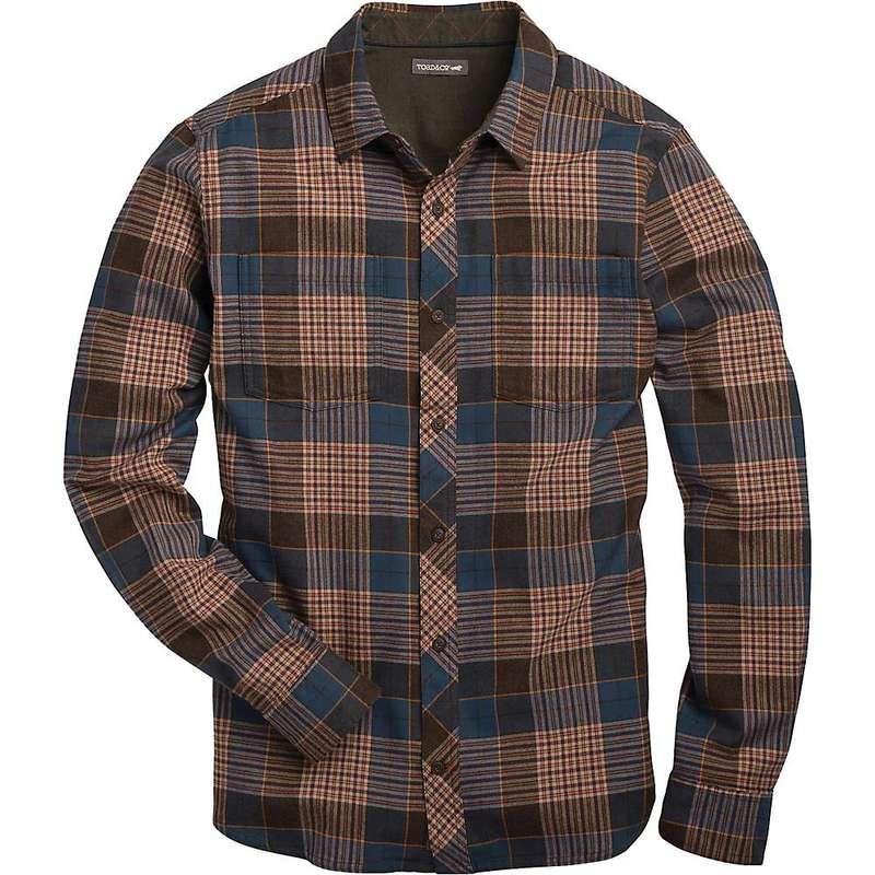 トードアンドコー メンズ シャツ トップス Toad & Co Men's Flannagan LS Shirt Blue Wing Teal