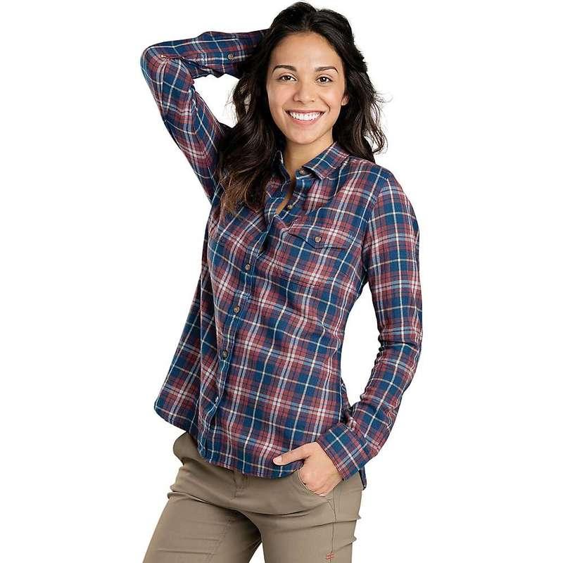 トードアンドコー レディース シャツ トップス Toad & Co Women's Indigo Skye LS Shirt Medium Indigo