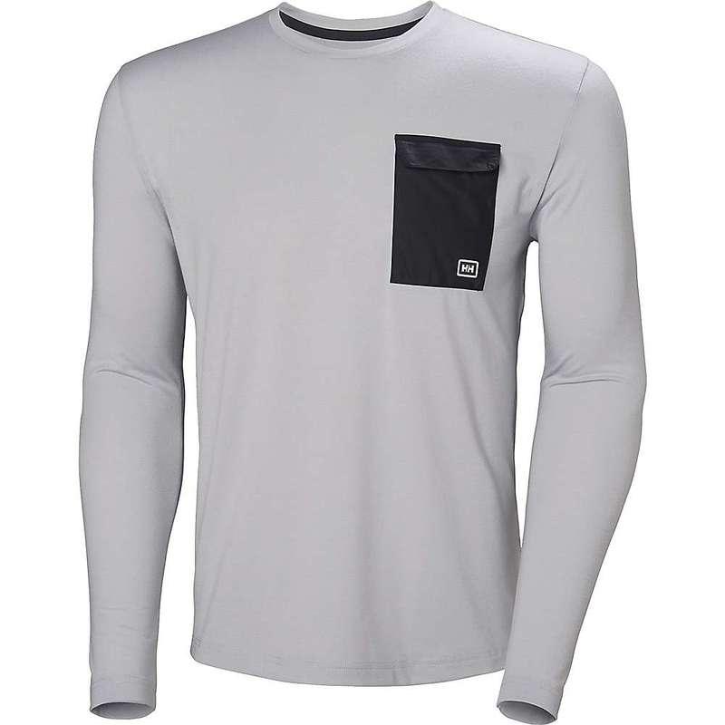 ヘリーハンセン メンズ シャツ トップス Helly Hansen Men's Lomma Long Sleeve Shirt GREY FOG
