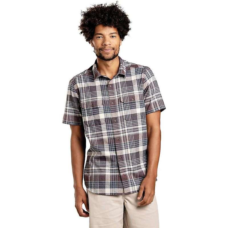 トードアンドコー メンズ シャツ トップス Toad & Co Men's Hookline SS Shirt Raisin