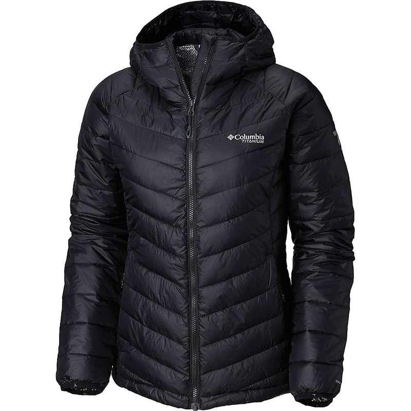 コロンビア レディース ジャケット・ブルゾン アウター Columbia Titanium Women's Snow Country Hooded Jacket Black