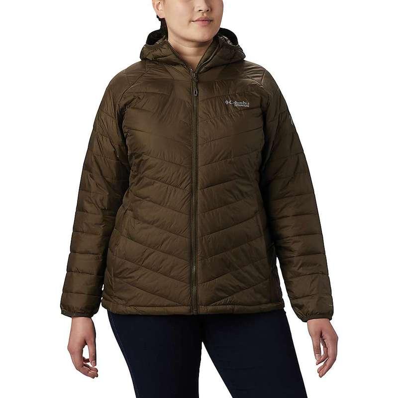 コロンビア レディース ジャケット・ブルゾン アウター Columbia Titanium Women's Snow Country Hooded Jacket Olive Green
