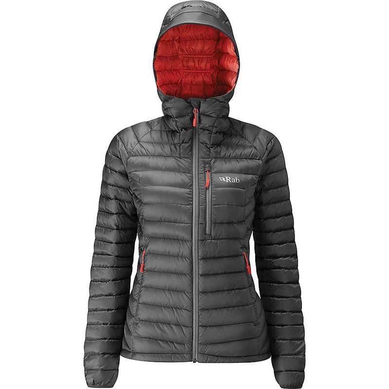 ラブ レディース ジャケット・ブルゾン アウター Rab Women's Microlight Alpine XLong Jacket Steel / Passata