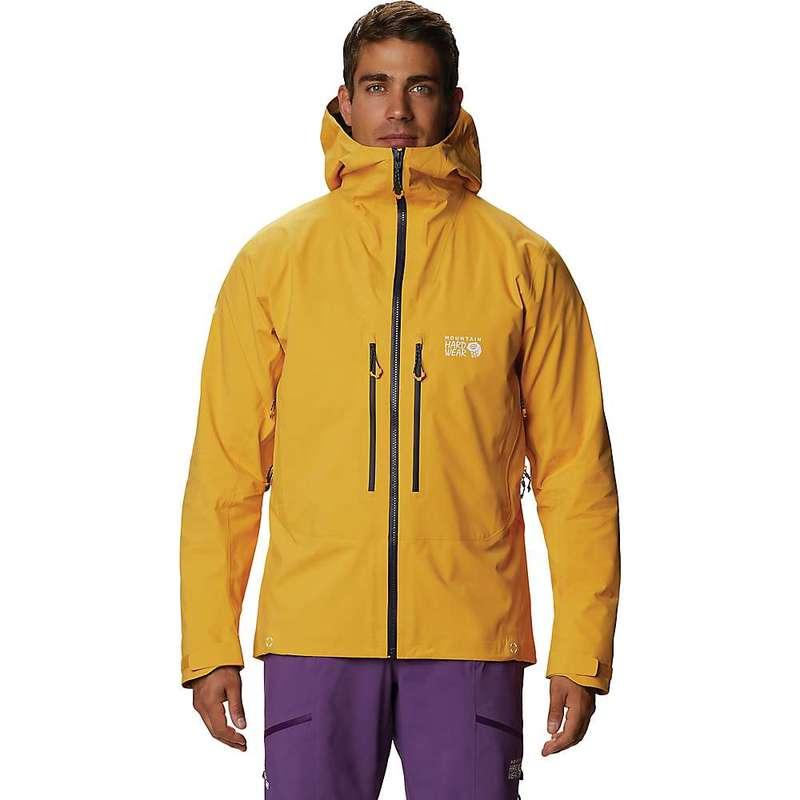 マウンテンハードウェア メンズ ジャケット・ブルゾン アウター Mountain Hardwear Men's Exposure/2 GTX Pro Jacket Gold Hour