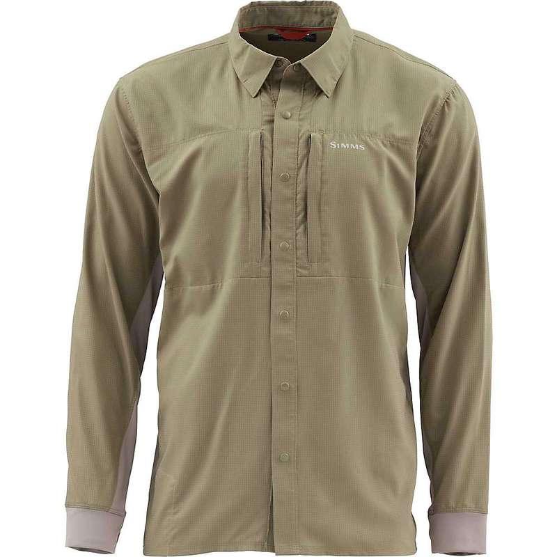シムズ メンズ シャツ トップス Simms Men's Intruder BiComp LS Shirt Tan