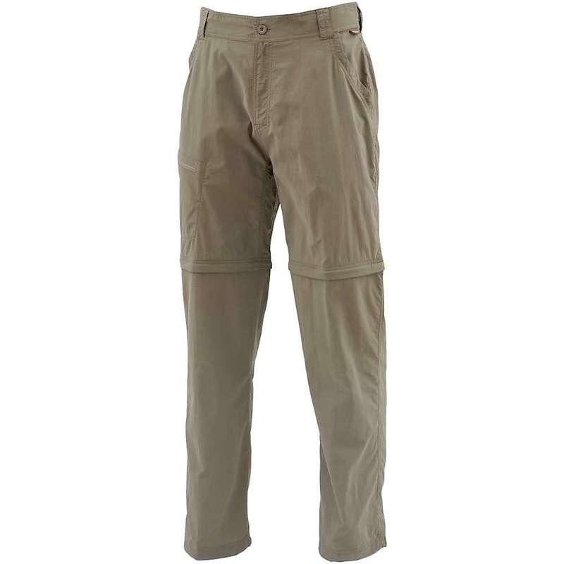 シムズ メンズ カジュアルパンツ ボトムス Simms Men's Superlight Zip-Off Pant Tumbleweed