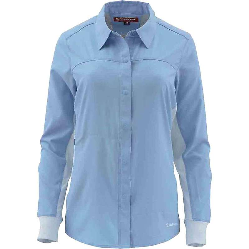 シムズ レディース シャツ トップス Simms Women's BiComp LS Shirt Faded Denim