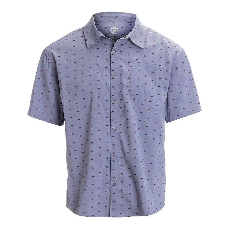 ゾイック メンズ シャツ トップス Zoic Men's Evolve Button Up Shirt Dakota