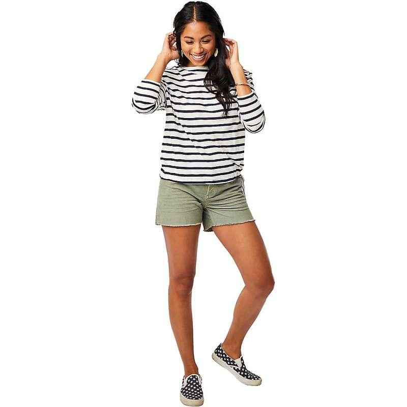 カーブデザイン レディース シャツ トップス Carve Designs Women's Lorena Top Navy Mali Stripe