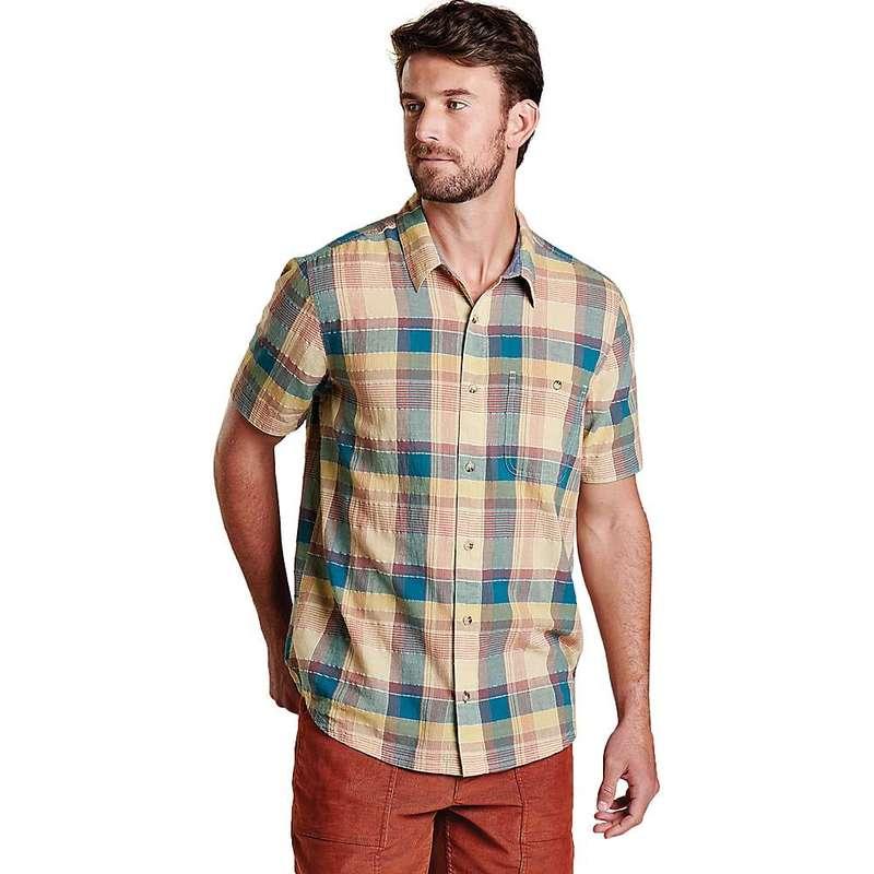 トードアンドコー メンズ シャツ トップス Toad & Co Men's Cuba Libre SS Shirt Desert