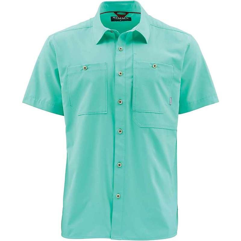 シムズ メンズ シャツ トップス Simms Men's Double Haul SS Shirt Aruba