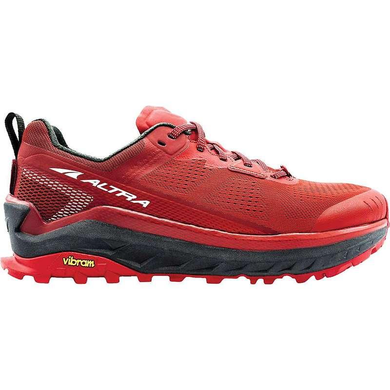 オルトラ メンズ スニーカー シューズ Altra Men's Olympus 4 Shoe Red