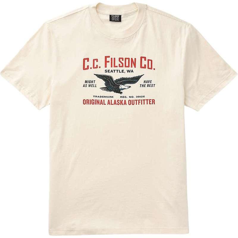 フィルソン メンズ シャツ トップス Filson Men's Lightweight Outfitter Graphic SS T-Shirt Birch