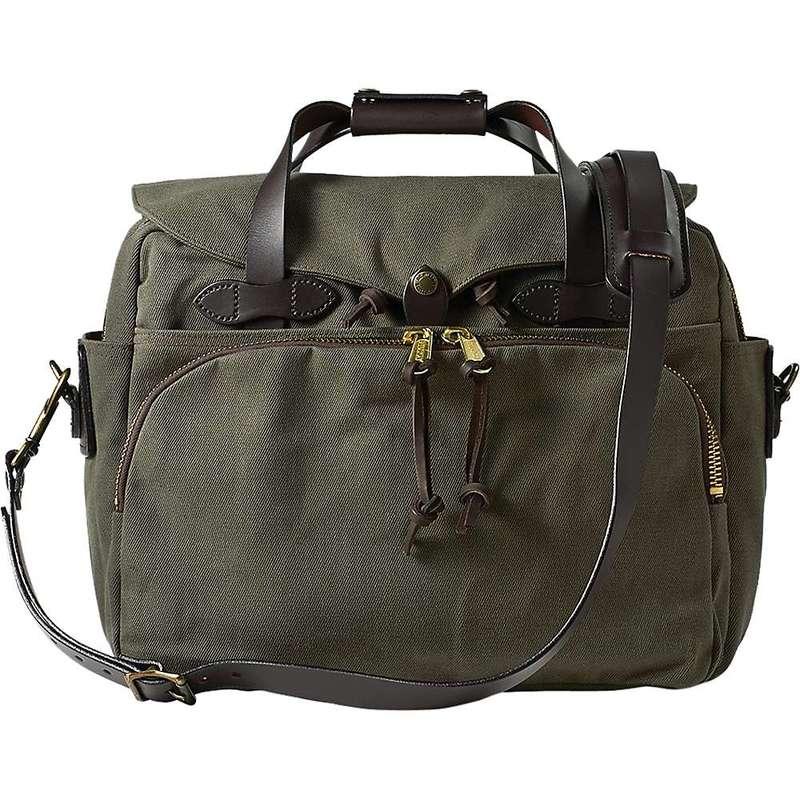 フィルソン メンズ ショルダーバッグ バッグ Filson Padded Computer Bag Otter Green