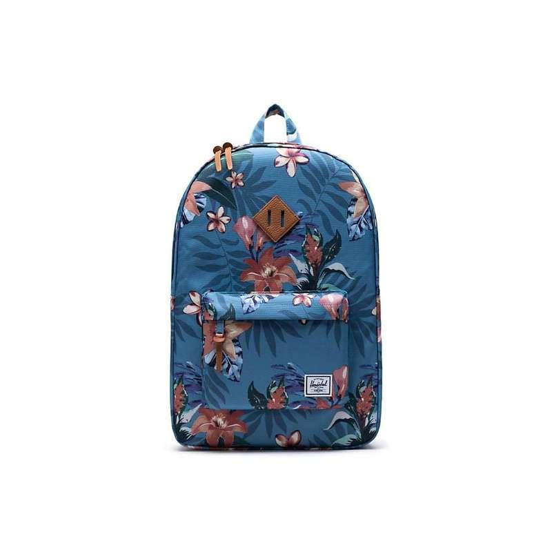 ハーシャル メンズ バックパック・リュックサック バッグ Herschel Supply Co Heritage Backpack Summer Floral Heaven Blue